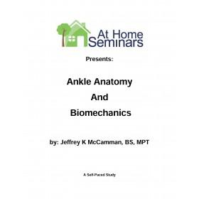 Ankle Anatomy & Biomechanics