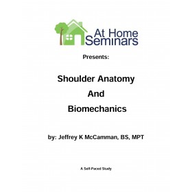 Share A Course: Shoulder Anatomy & Biomechanics