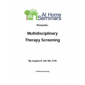 Share a Course: Multidisciplinary Therapy Screening (Electronic Download)